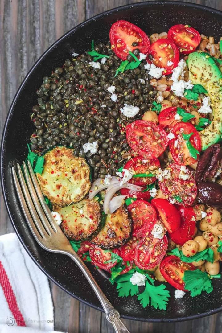 Mediterranean Grain Bowl