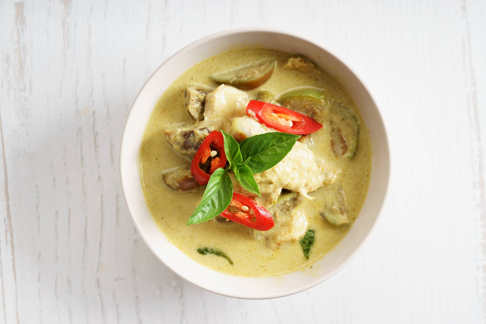 Green Thai Prawn Curry
