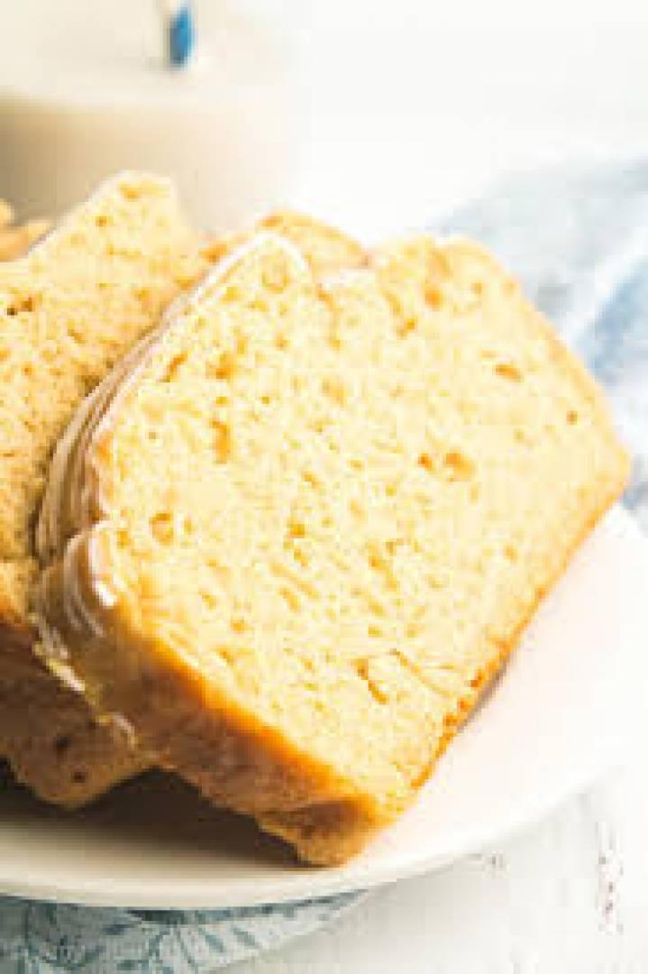 Lemon Pound Cake Snack