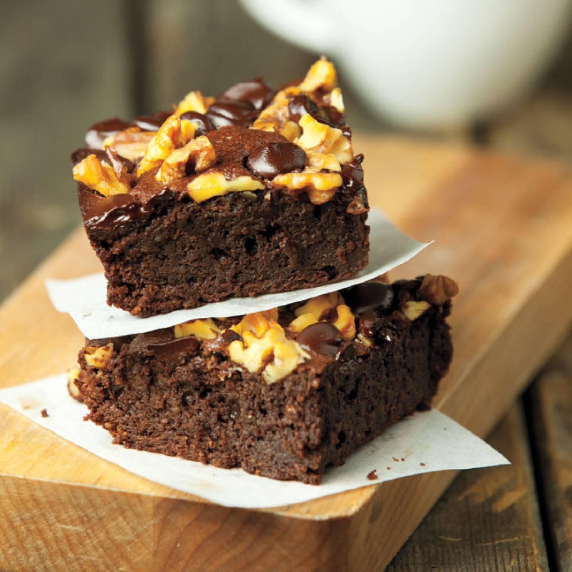 Chocolate Walnut Brownie Six Pack