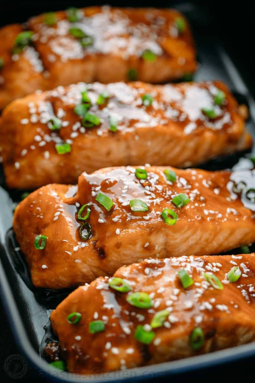 Keto Salmon Teriyaki